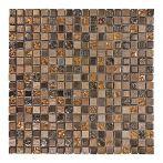 HPH Placke Mosaik 1,5x1,5 BELLINO-5 cobre anticato 30x30x0,8 cm Art. 14849