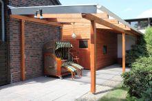 Protektor Nr.: 85890 Dachrinnen-Set für Terassenüberdachung NW 100 weiß