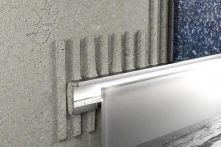 Schlüter LIPROTEC D Dekorprofil Aluminium natur matt eloxiert