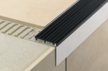 Schlüter TREP TAP Treppenprofil Abdeckprofil - Aluminium natur matt eloxiert