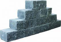 teamline Betonmauerstein SKADI Noir 35x20x15 cm - anthrazit