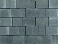 teamline Beton-Öko-pflaster RONDI 8 cm - graphitgrau - Mischformate
