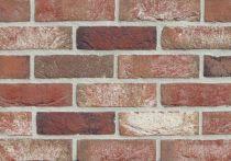 teamline Wasserstrich RONE Antik rot-bunt nuanciert - WDF-Format 210x100x65 mm