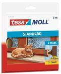 tesamoll® Standard I-Profil Schaumstoff braun, für Spalten von 1-3,5mm, 6mx9mmx4mm