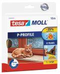 tesamoll®  P-Profil braun, für Spalten von 2-5mm, 10mx9mmx5,5mm