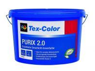 Tex-Color Wandfarbe Purix 2.0 Weiß TC1222 - 12,5 Liter