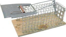 Drahtkäfig-Mausefalle, 1 Eingang, 130x50x50mm (005001)