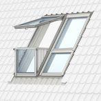 Velux CABRIO Dachbalkonfenstersystem - Fensterblech Aluminium, GDL PK19 2066