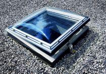 VELUX Flachdach-Fenster Kunststoff, Typ: CFP 150150 0063QV