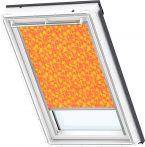 VELUX Verdunkelungs-Rollo manuell Gelb/Orange, Typ: DKL U04 4568S