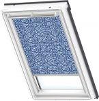 VELUX Sichtschutz Rollo manuell Blau/Weiß, Typ: RFL S50 4160S