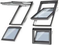 Velux Zusatzelement Wand für Drempel/Kniestock - Holz - Fensterblech Aluminium, Typ: VFE MK31 3066