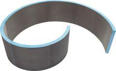 Wedi Designelemente DTW Nautilo AS 1850x1475x500 mm