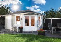 Wolff Finnhaus Gartenhaus Anna 40-A - 453x299 cm
